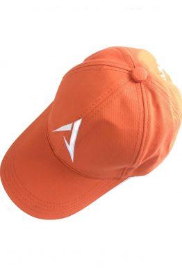 Orange golfkeps
