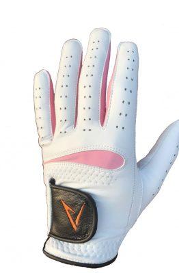 Vit-Rosa Golfhandske