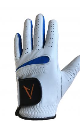 Vit-Blå Golfhandske